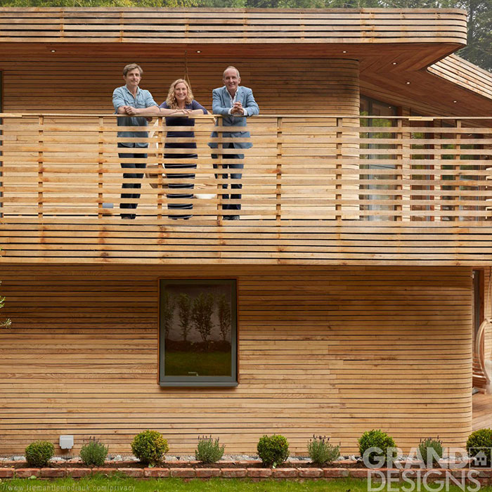 Grand Designs wooden house
