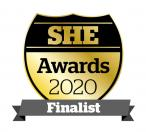 SHE Awards 2020 Finalist Logo
