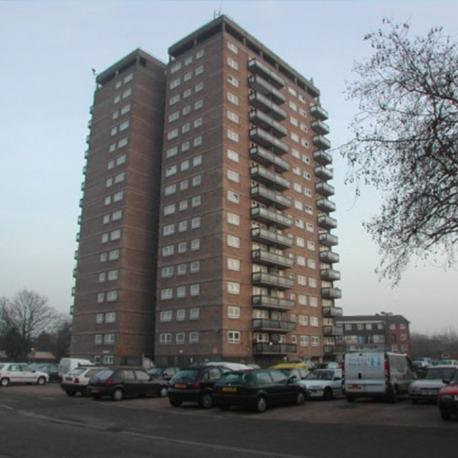 Surrey Towers retrofit fire sprinklers